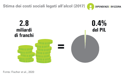 Stima dei costi sociali legati all'alcol